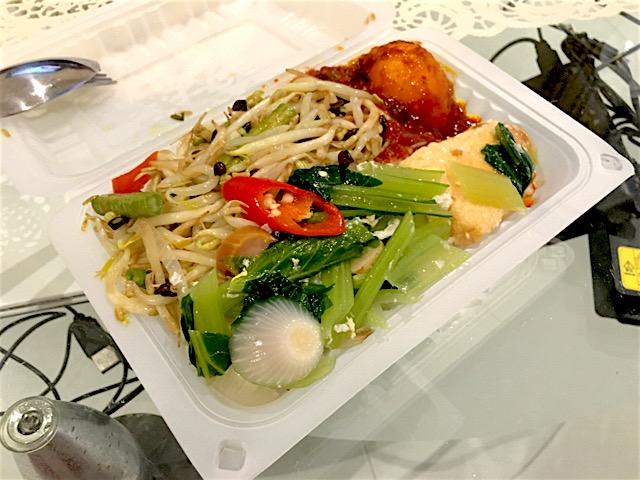 ペナン島(マレーシア)のお弁当
