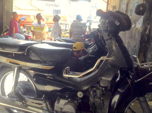 バイクに注意