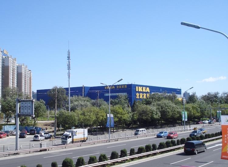 中国北京のIKEA