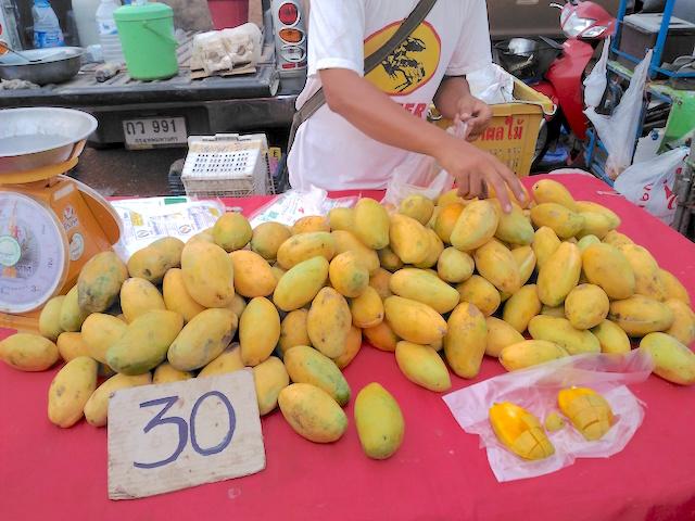 タイの市場