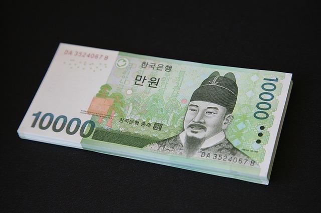 韓国ソウルで両替