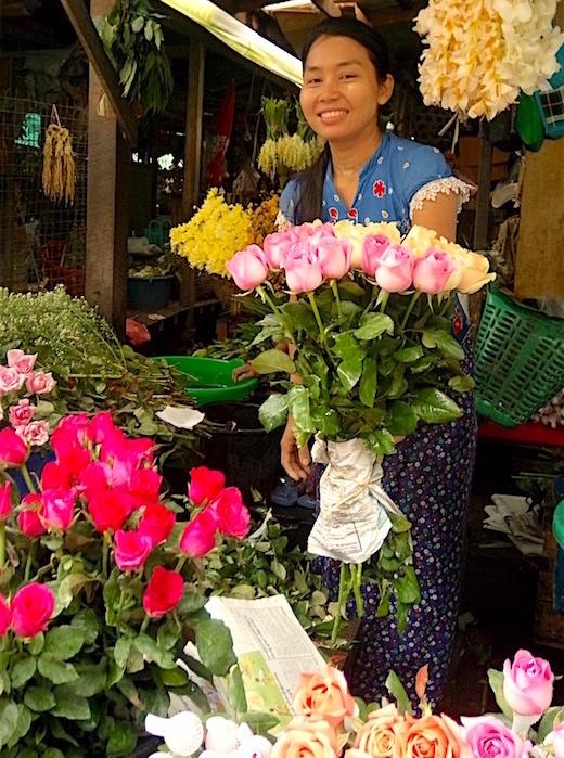 タンリンゼーで売っている花