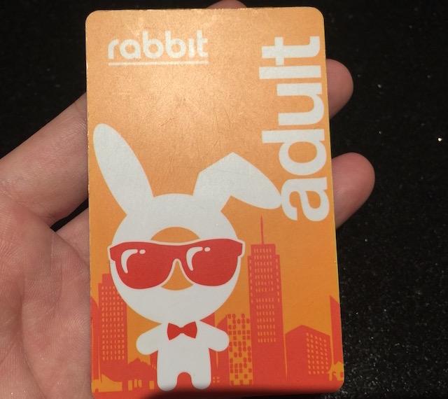 スカイトレイン(BTS)のラビットカード