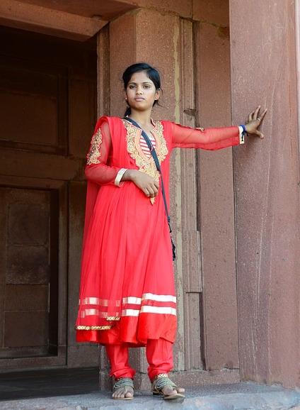 ネパールの女性