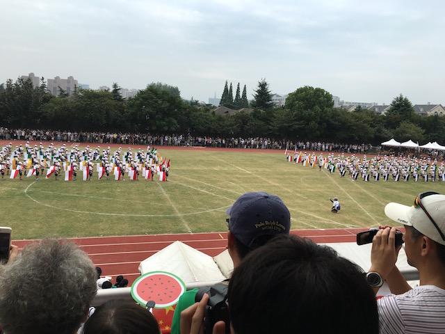 日本人学校のグラウンド