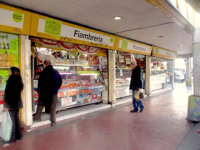 ブエノスアイレスの個人商店街