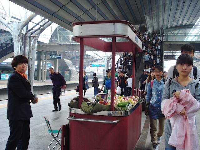 北京駅の売店
