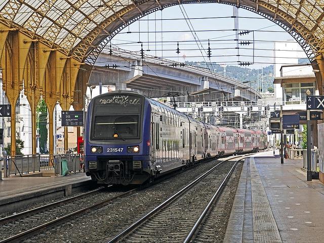 フランスの電車
