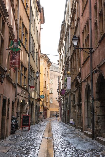 リヨン旧市街