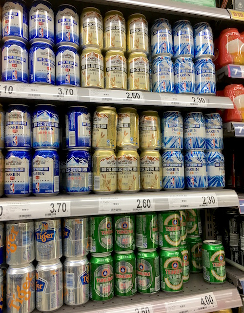 中国のビール