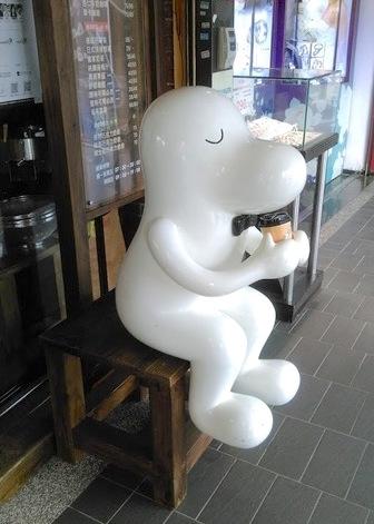cama(現烘咖啡專賣店)のマスコット