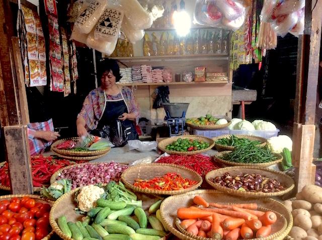 パサールの野菜