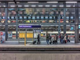ベルリンの駅