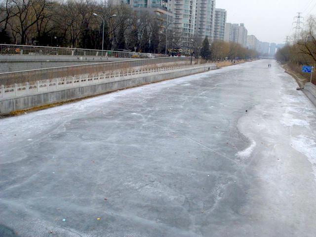 中国北京の冬
