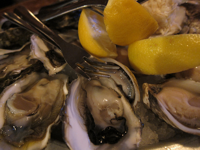 Rodney's Oyster Houseの牡蠣