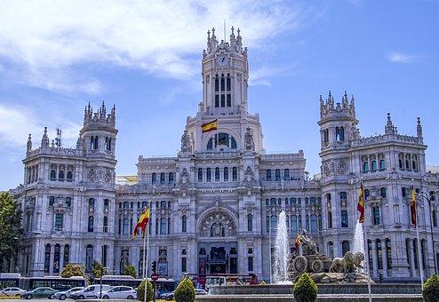 シベレス宮殿(マドリード市庁舎)
