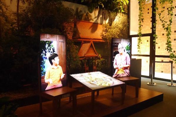 パー・ナイ・クルン(都会の森)のビデオブース