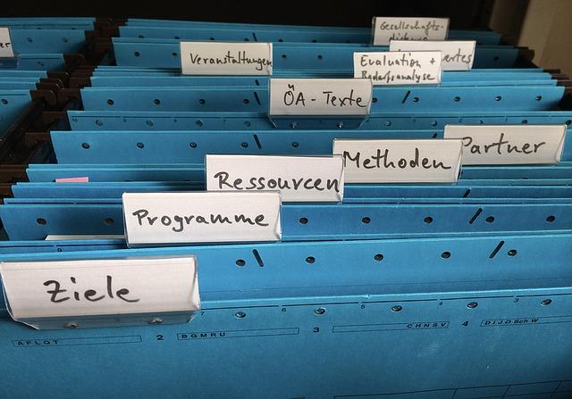 書類の保存