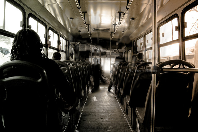 バスの中での出来事