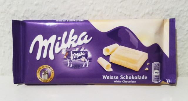 Milka(ミルカ)のチョコ