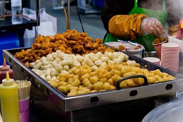 韓国の屋台料理