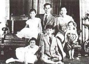 国王家族写真