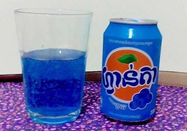 ファンタ(ブルーベリー味)
