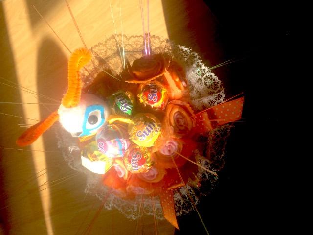 キャンディの造花