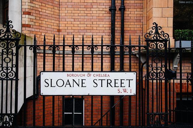 ロンドンの高級住宅地チェルシー