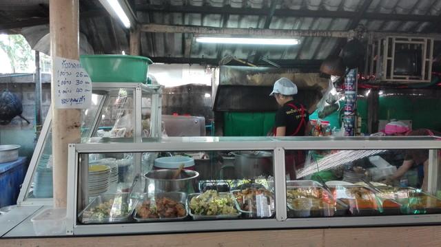 ร้านหนมเส้น ในซอย อาหารถูก