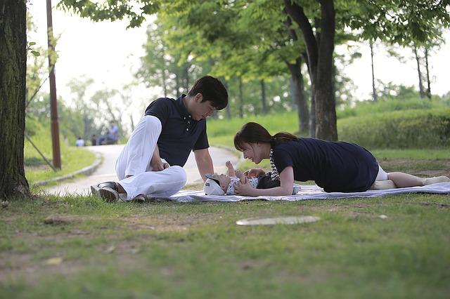韓国人家族