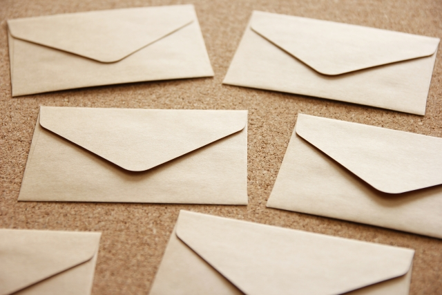 お知らせの手紙