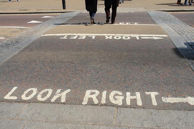 ロンドンの通り