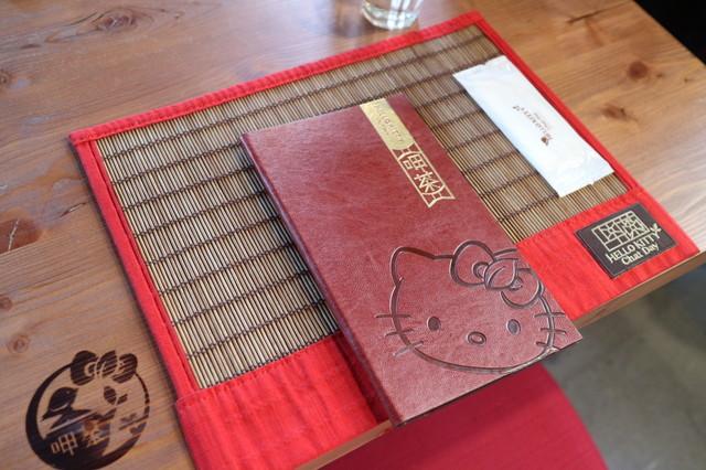 ハローキティレストランのメニュー