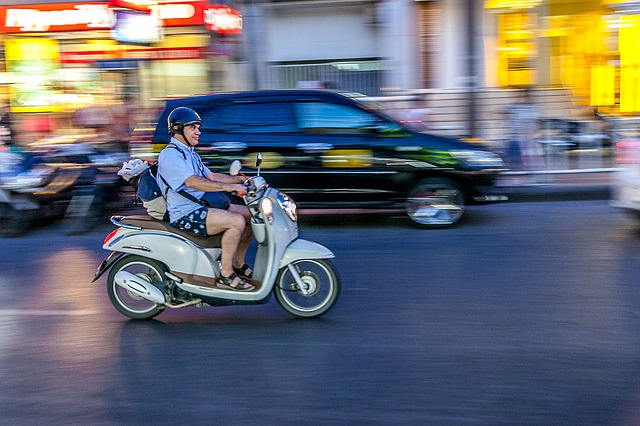 バイクの運転