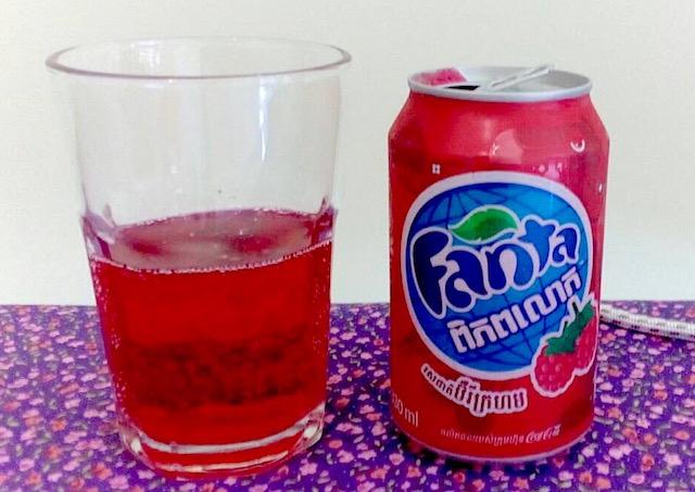 ファンタ(レッドベリー味)