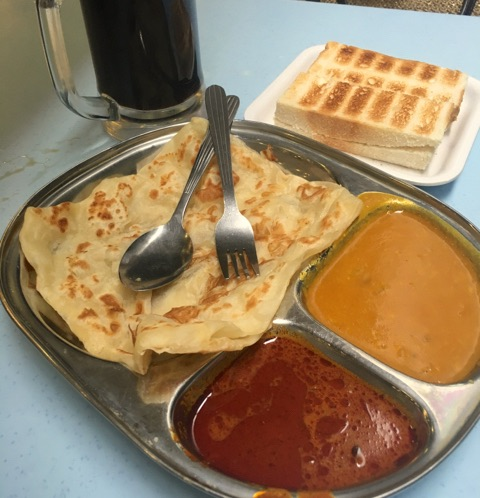 インド朝食Roti Canai