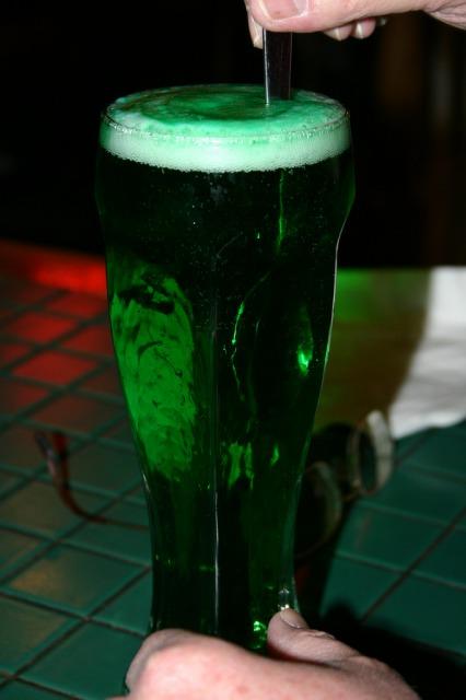 緑のギネスビール