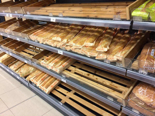 MERCADONAのパン