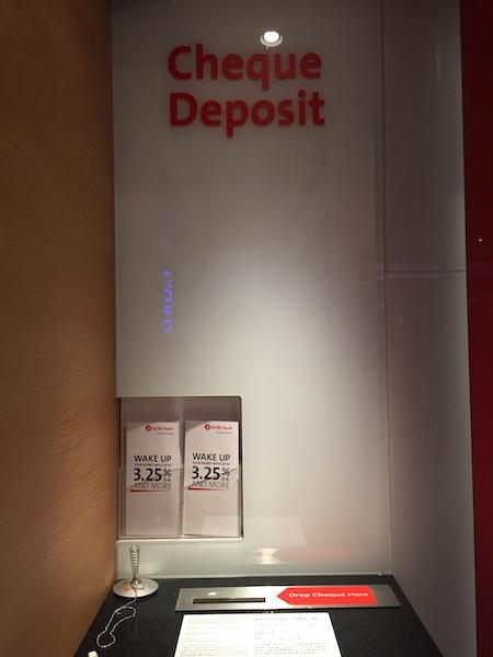 Cheque Box