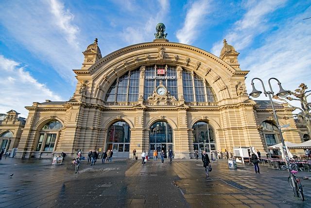 ドイツ・フランクフルト駅