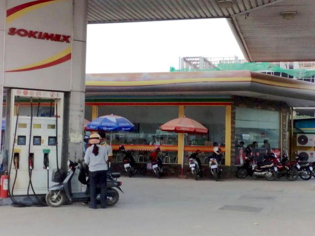ガソリンスタンドにあるコンビニ