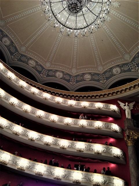 バイエルン州立歌劇場内部