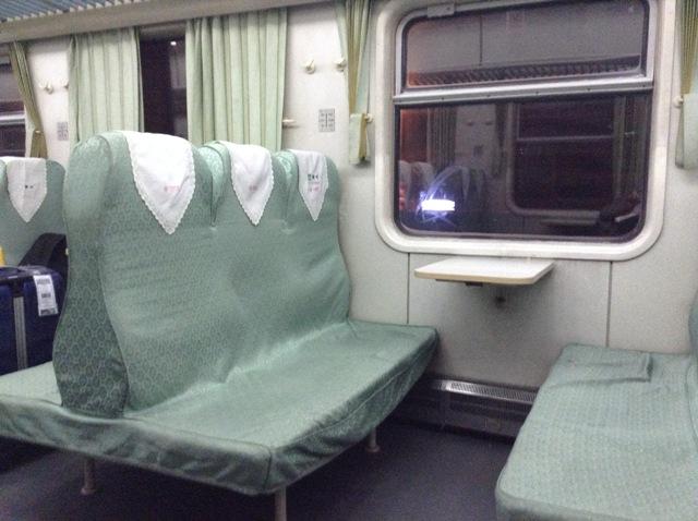 列車の座席