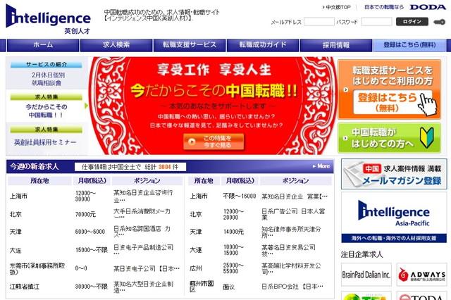 インテリジェンス/英創人材服務(上海)有限公司