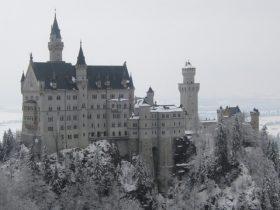 ドイツの冬の城