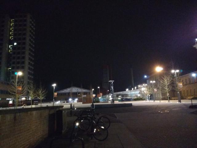 イギリスの夜