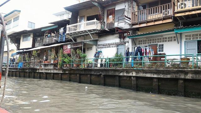バンコクの水路
