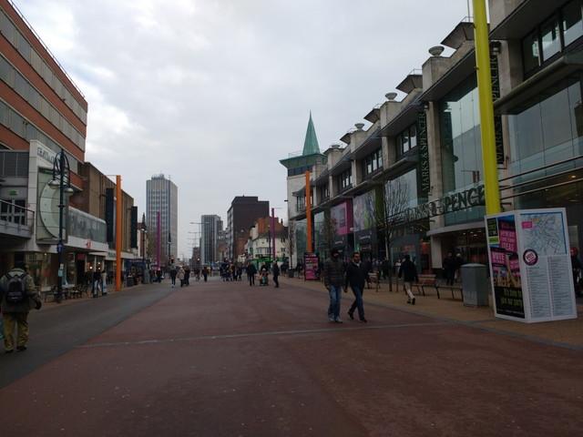 イギリスの市街地