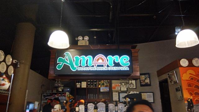 ピザ屋:Amare La Cucina